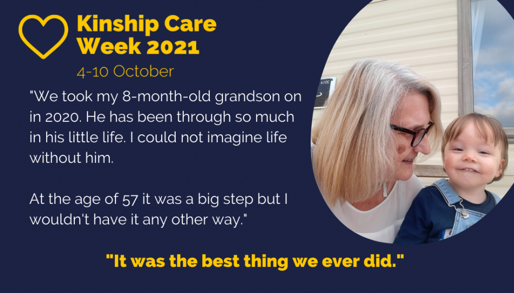 A testimonial for Kinship Care Week 2021