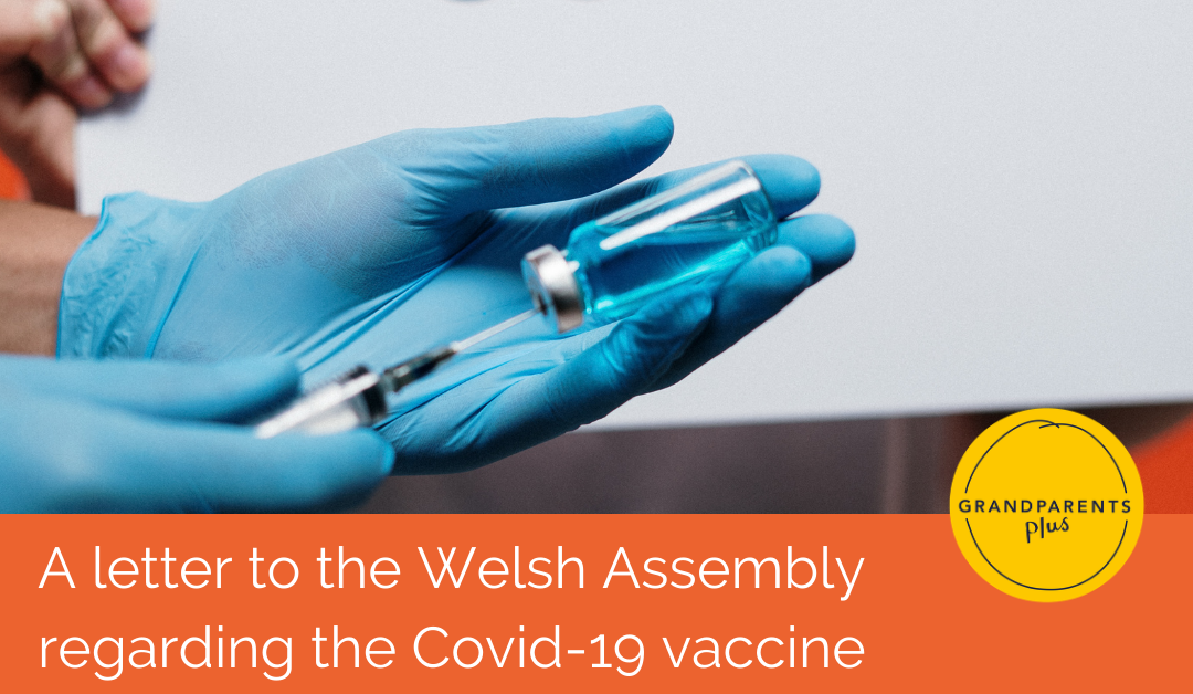 A letter to the Welsh Senedd regarding the Covid-19 vaccine