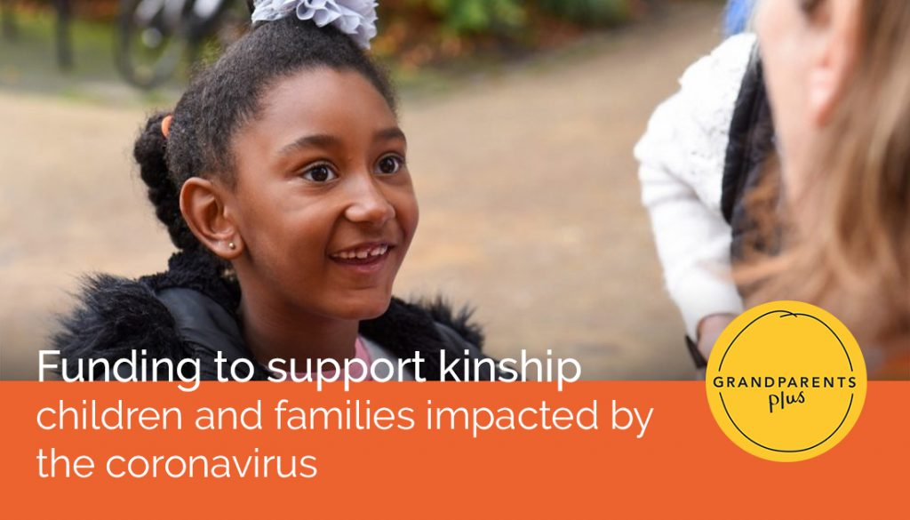 Grandparents Plus joins coalition of charities funded by Department for Education to support vulnerable children and families impacted by the coronavirus