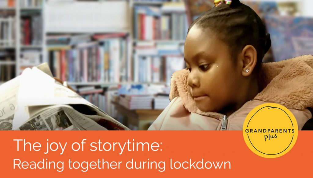 The Joy of Storytime: reading together during lockdown