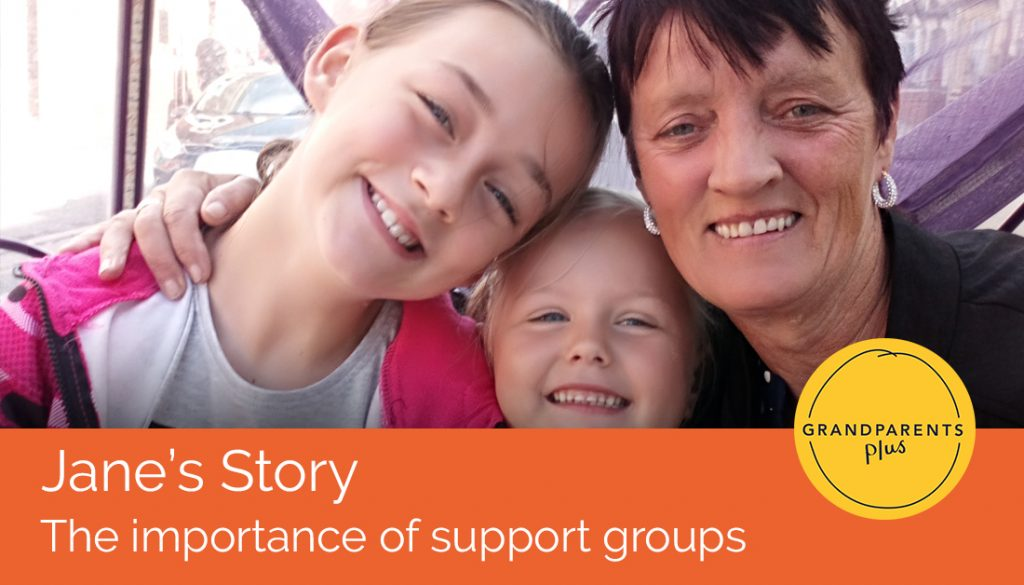 Jane's Story: The importance of support groups