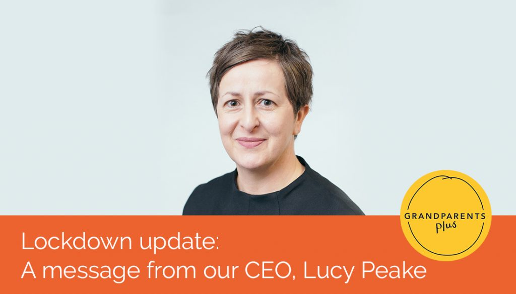 A message from our Chief Executive on the new lockdowns